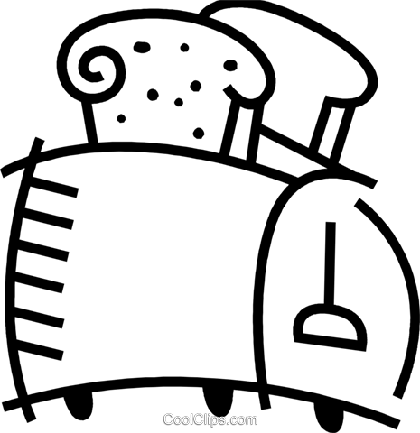 Toasters Royalty Free Vector Clip Art illustration vc078457
