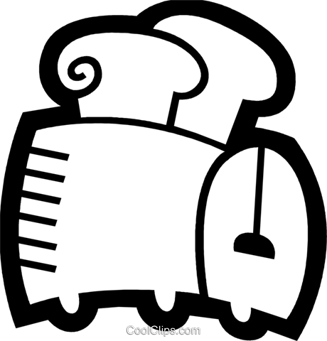 Toasters Royalty Free Vector Clip Art illustration vc078459