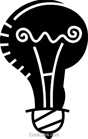 Light bulbs Royalty Free Vector Clip Art illustration vc078494