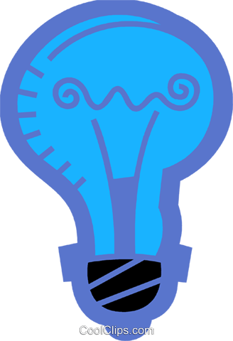 Light bulbs Royalty Free Vector Clip Art illustration vc078497