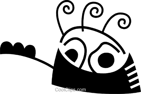 Pots and Pans Royalty Free Vector Clip Art illustration vc078542