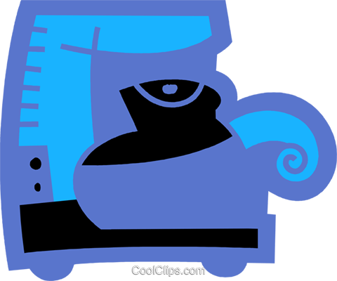Coffee Pots and Coffee Makers Royalty Free Vector Clip Art illustration vc078563