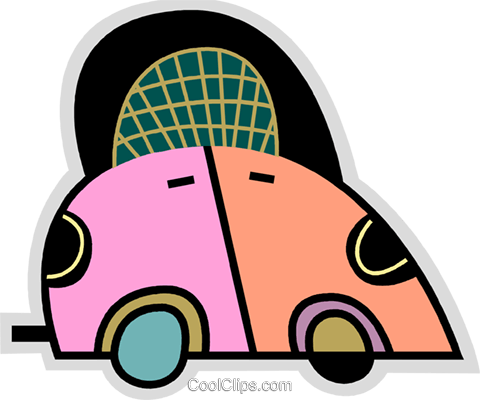 Family Cars Royalty Free Vector Clip Art illustration vc078598