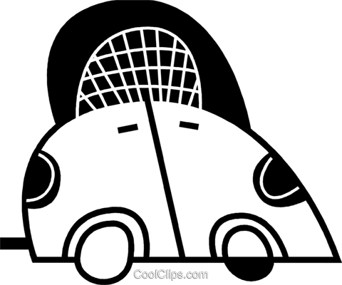 Family Cars Royalty Free Vector Clip Art illustration vc078599