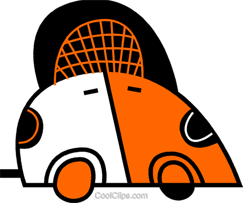 Family Cars Royalty Free Vector Clip Art illustration vc078601