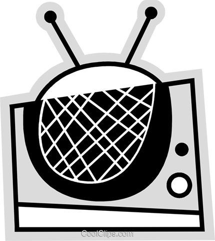 Televisions Royalty Free Vector Clip Art illustration vc078612