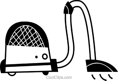 Vacuum Cleaners Royalty Free Vector Clip Art illustration vc078659