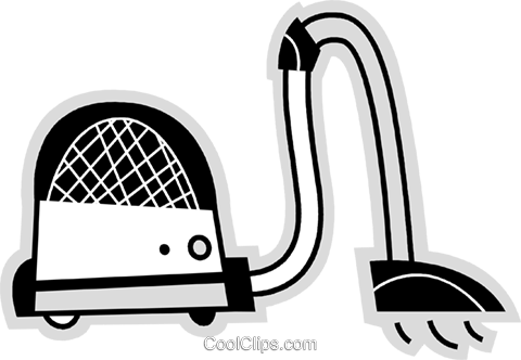 Vacuum Cleaners Royalty Free Vector Clip Art illustration vc078660