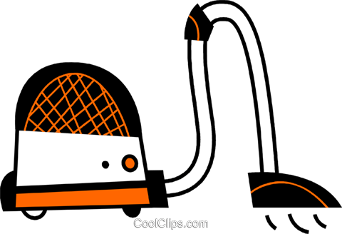 Vacuum Cleaners Royalty Free Vector Clip Art illustration vc078661