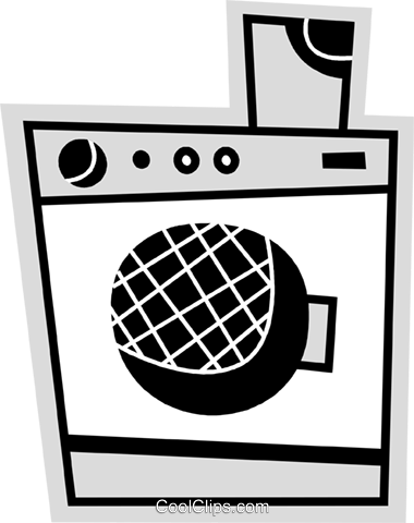 Washing Machines Royalty Free Vector Clip Art illustration vc078688