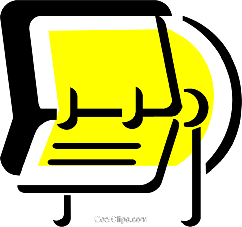 Rolodex Royalty Free Vector Clip Art illustration vc078762