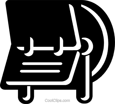 Rolodex Royalty Free Vector Clip Art illustration vc078765