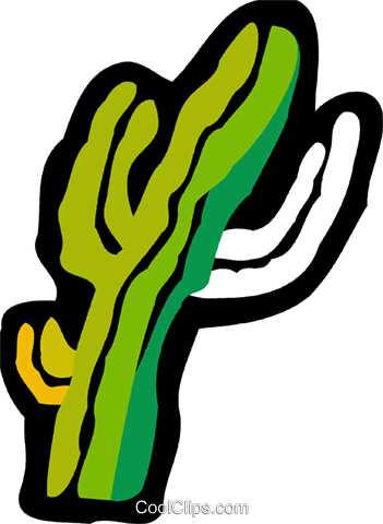 Cactus Royalty Free Vector Clip Art illustration vc078858