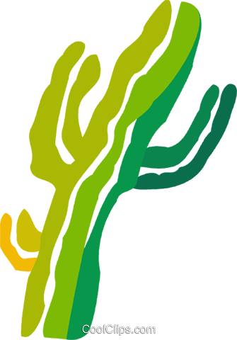 Cactus Royalty Free Vector Clip Art illustration vc078861