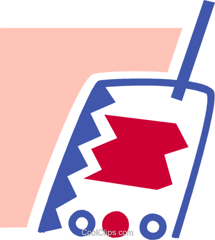 Walkie-Talkies Vektor Clipart Bild vc078967