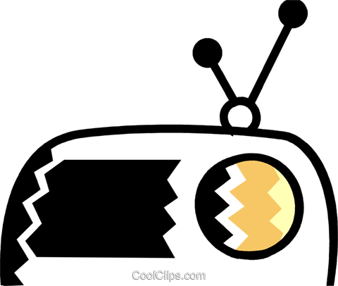 Radios Royalty Free Vector Clip Art illustration vc079008