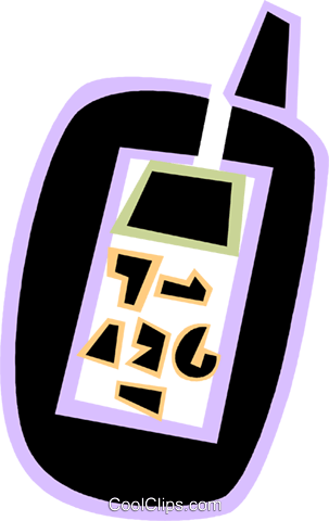 Walkie-Talkies Royalty Free Vector Clip Art illustration vc079070