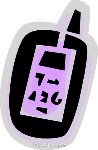 Walkie-Talkies Royalty Free Vector Clip Art illustration vc079073