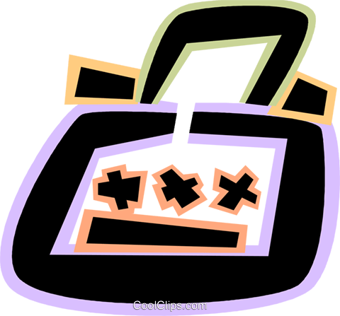 Luggage Royalty Free Vector Clip Art illustration vc079106