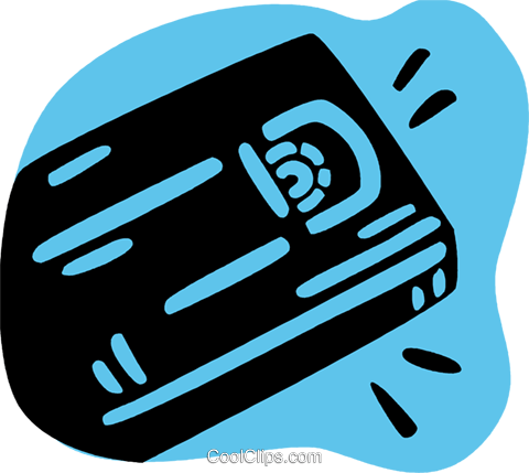 Videotapes Royalty Free Vector Clip Art illustration vc079268