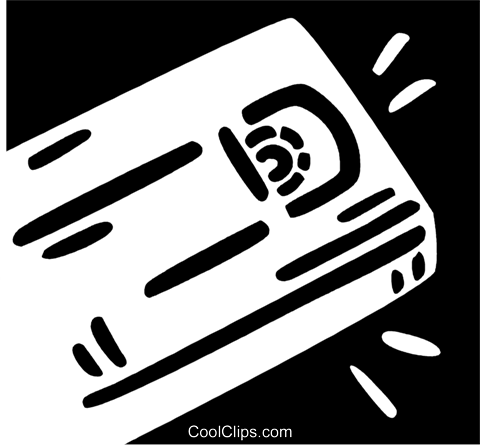 Videotapes Royalty Free Vector Clip Art illustration vc079269