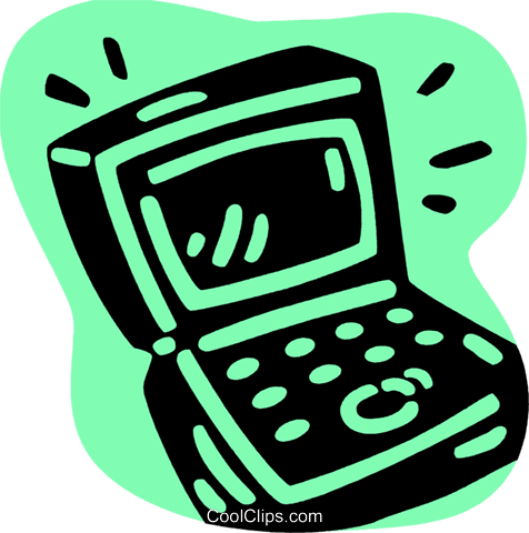 Laptops and Notebook Computers Royalty Free Vector Clip Art illustration vc079278
