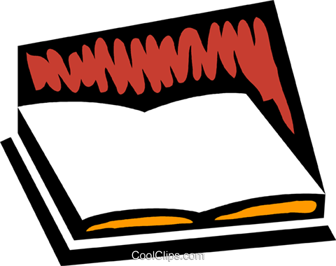 Books Royalty Free Vector Clip Art illustration vc079308