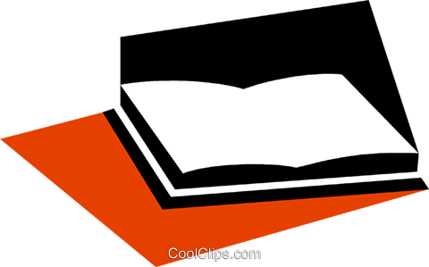 Books Royalty Free Vector Clip Art illustration vc079310