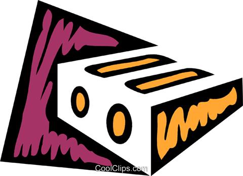 Pencil Sharpeners Royalty Free Vector Clip Art illustration vc079323