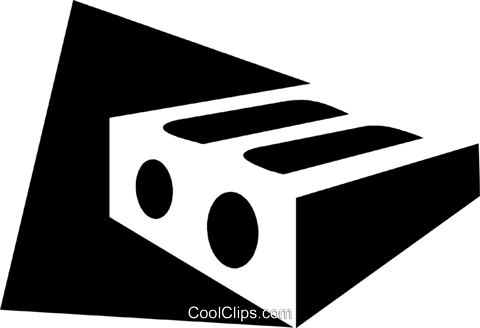 Pencil Sharpeners Royalty Free Vector Clip Art illustration vc079324