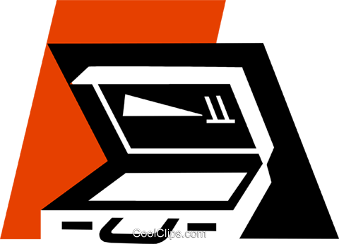 Briefcases Royalty Free Vector Clip Art illustration vc079367