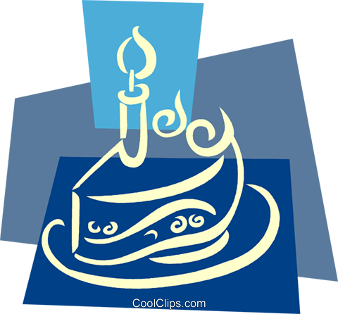 Birthday Cakes Royalty Free Vector Clip Art illustration vc079389