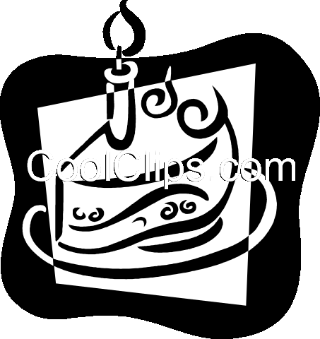 Birthday Cakes Royalty Free Vector Clip Art illustration vc079390