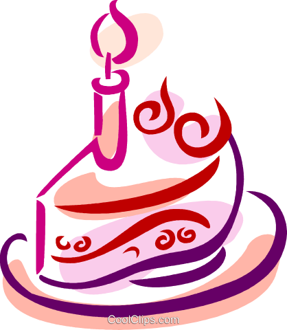 Birthday Cakes Royalty Free Vector Clip Art illustration vc079391