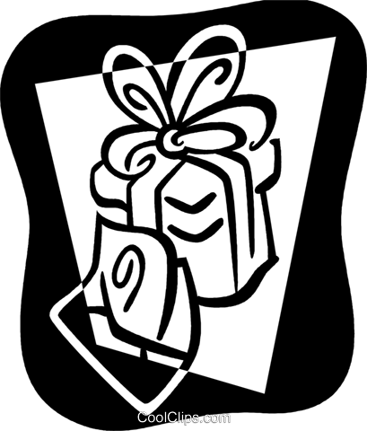 Christmas Presents Gifts Royalty Free Vector Clip Art illustration vc079426