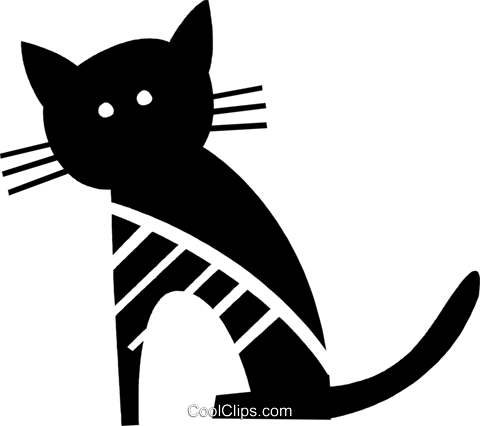 Cats Royalty Free Vector Clip Art illustration vc079483