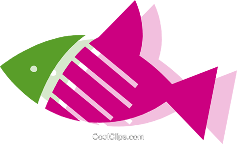 Various Fish Royalty Free Vector Clip Art illustration vc079487