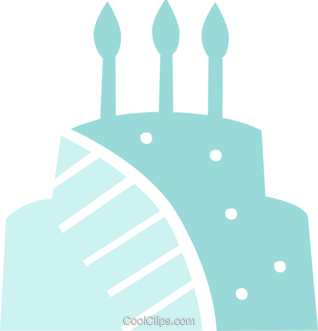Cakes Royalty Free Vector Clip Art illustration vc079509