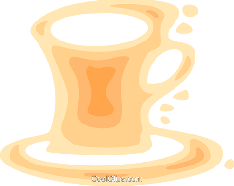 Cups of Coffee Royalty Free Vector Clip Art illustration vc079553