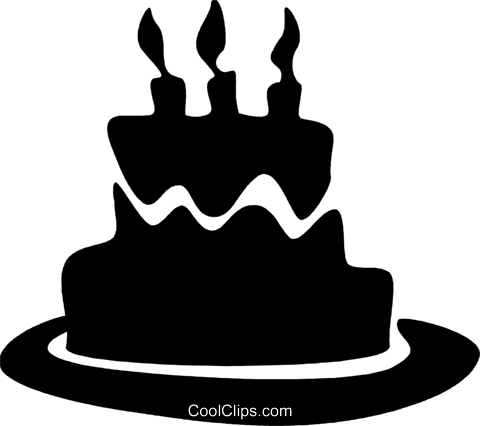 Birthday Cakes Royalty Free Vector Clip Art illustration vc079579