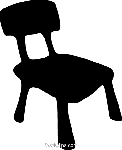 Chairs Royalty Free Vector Clip Art illustration vc079582