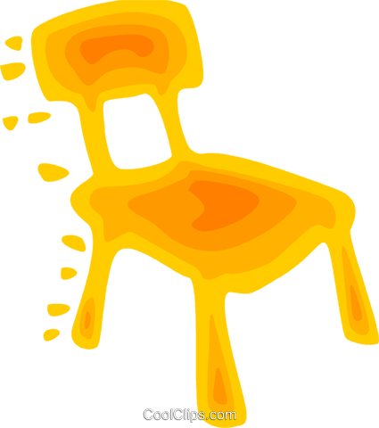 Chairs Royalty Free Vector Clip Art illustration vc079583