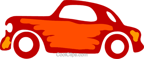 Family Cars Royalty Free Vector Clip Art illustration vc079590