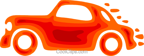 Family Cars Royalty Free Vector Clip Art illustration vc079592