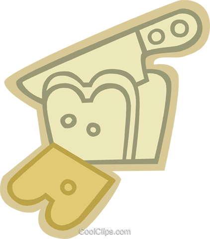 Bread Royalty Free Vector Clip Art illustration vc079613