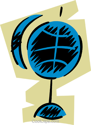 Globes Royalty Free Vector Clip Art illustration vc079671