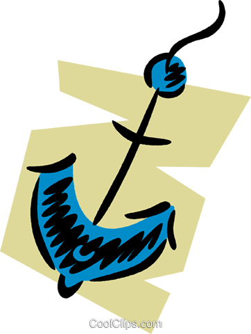 Anchors Royalty Free Vector Clip Art illustration vc079692