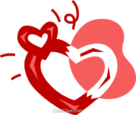 Hearts Royalty Free Vector Clip Art illustration vc079763