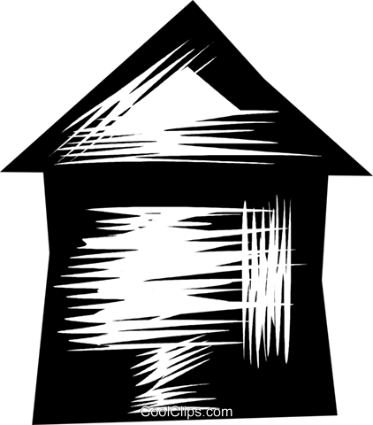 Urban Housing Royalty Free Vector Clip Art illustration vc079816