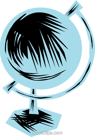 Globes Royalty Free Vector Clip Art illustration vc079863